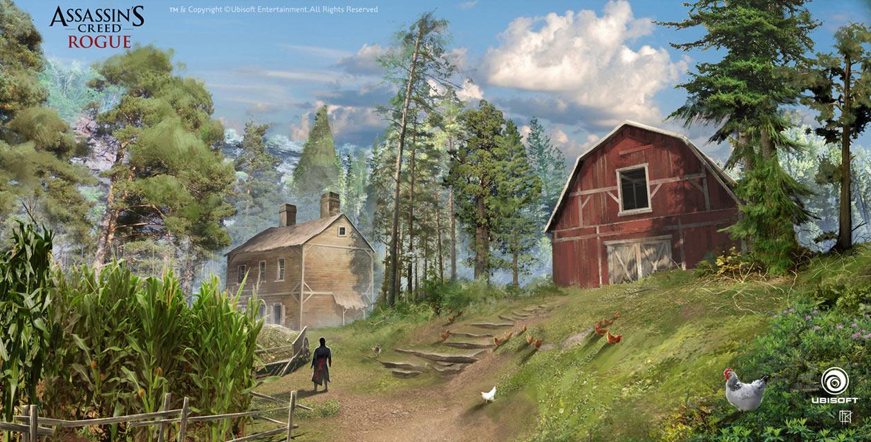 Farm Art Assassin S Creed Rogue Art Gallery