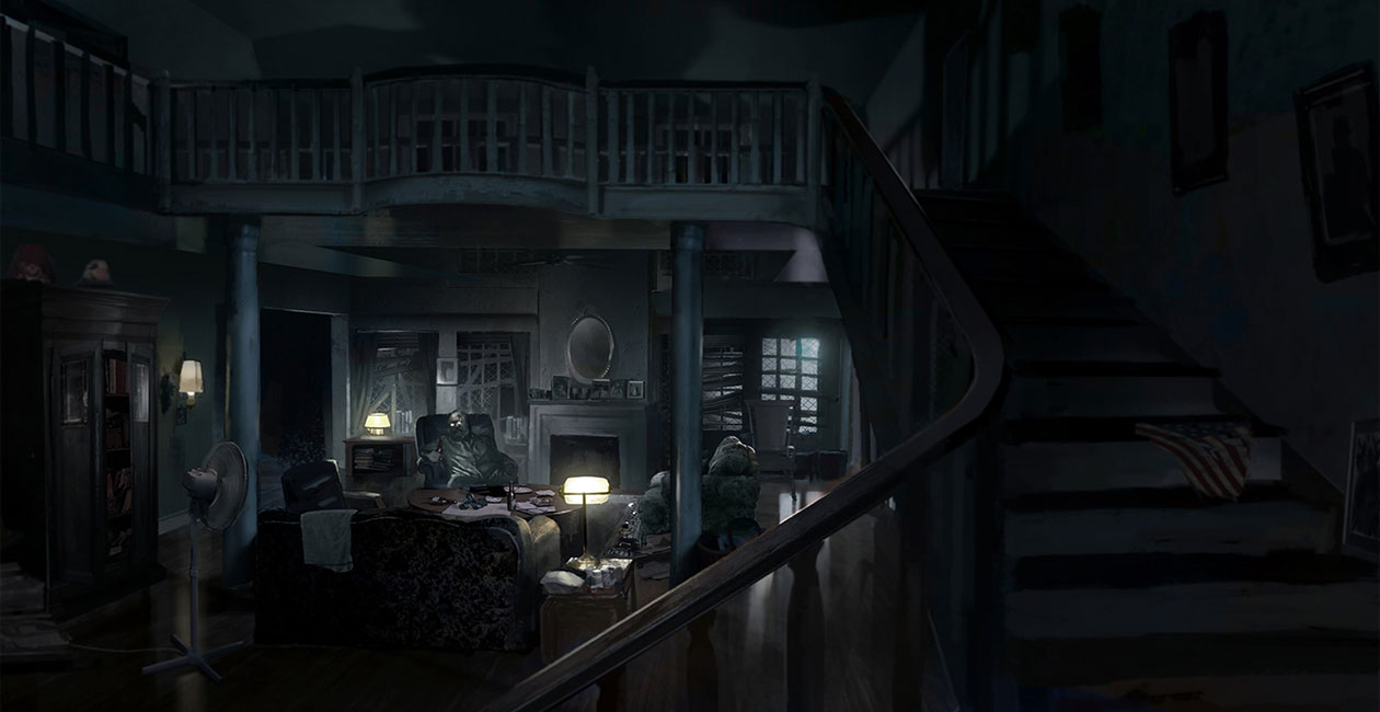 Living Room Art Resident Evil 7 Biohazard Art Gallery