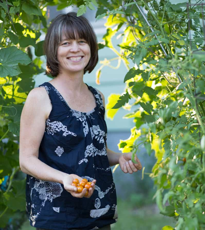 megan cain the creative vegetable gardener