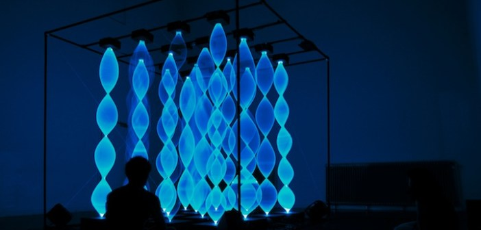 Blue light and sound