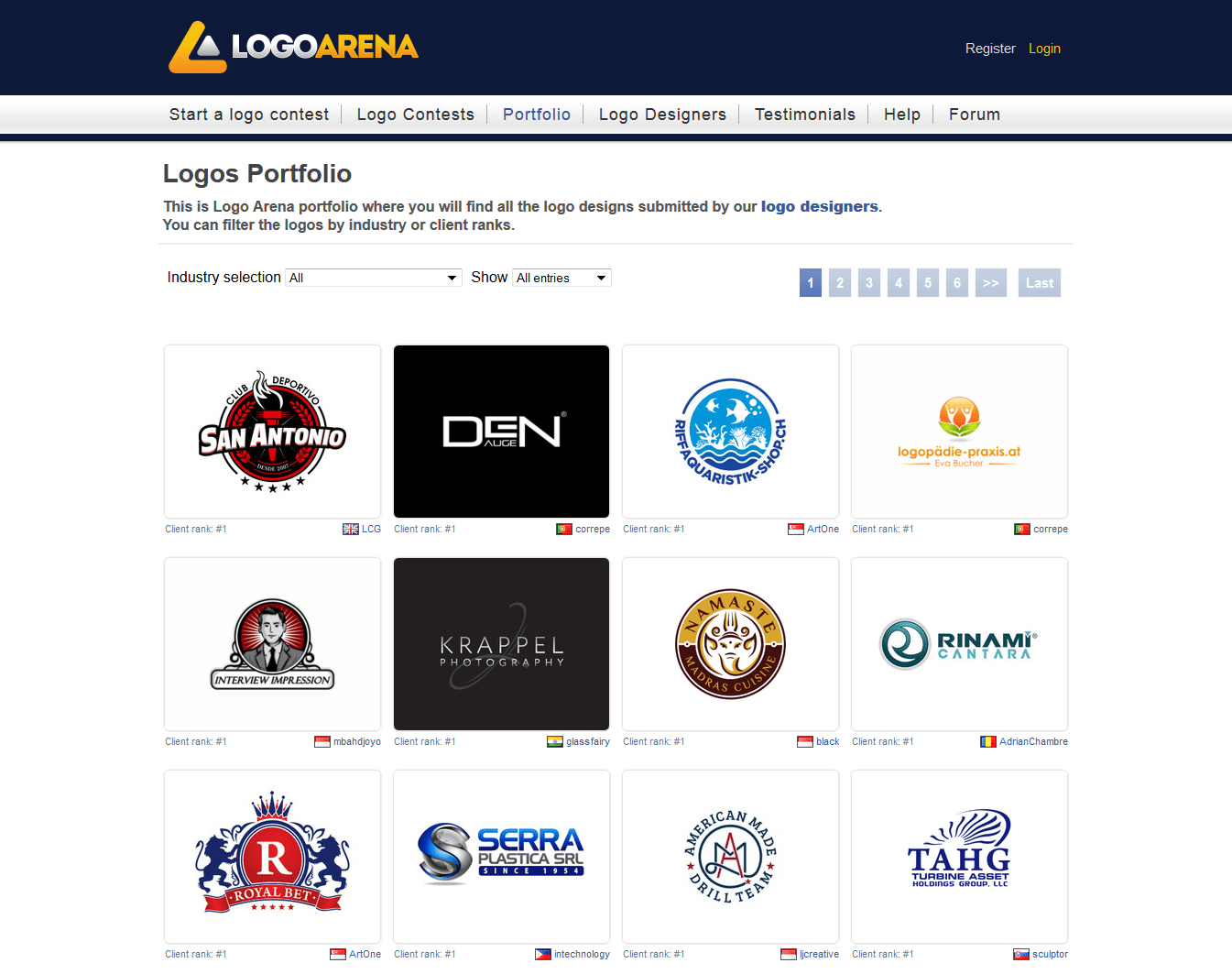 Want A Logo Try Logo Arena