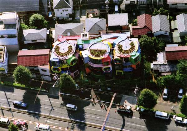 Experimental Japanese buildings 15