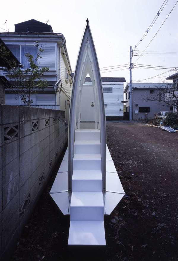 Experimental Japanese buildings 5