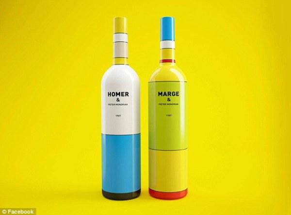 simpsons glass bottles 1