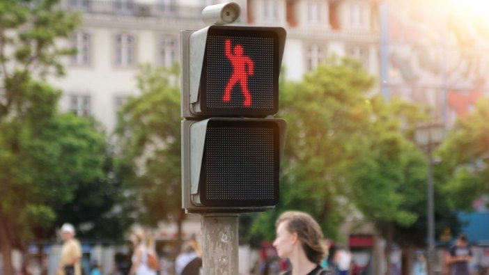 dancing pedestrian light 1