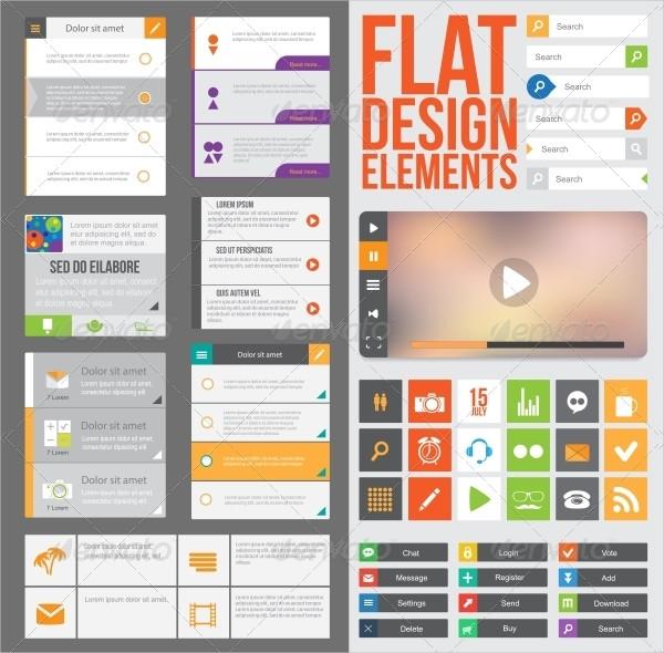 Best Flat Web Buttons Designs