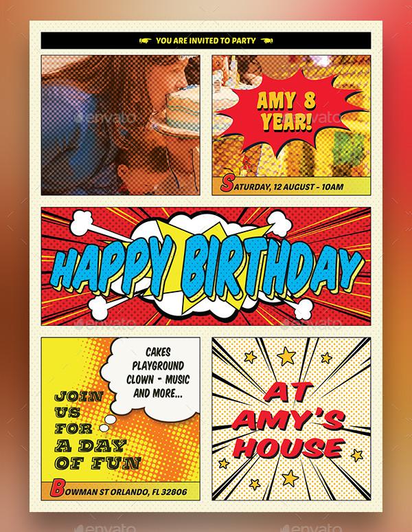 Birthday Celebration Flyer Design