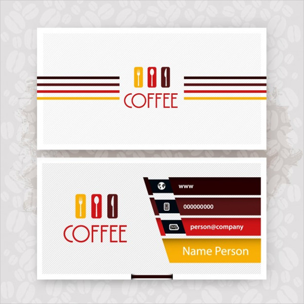 Free Download Coffee Business Card