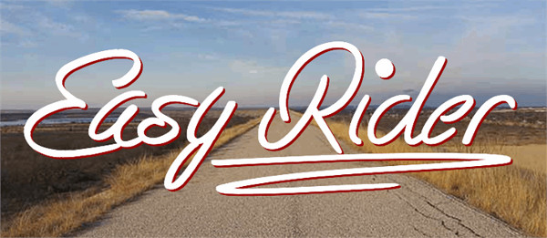 Easy Rider Tattoo Font Free Download