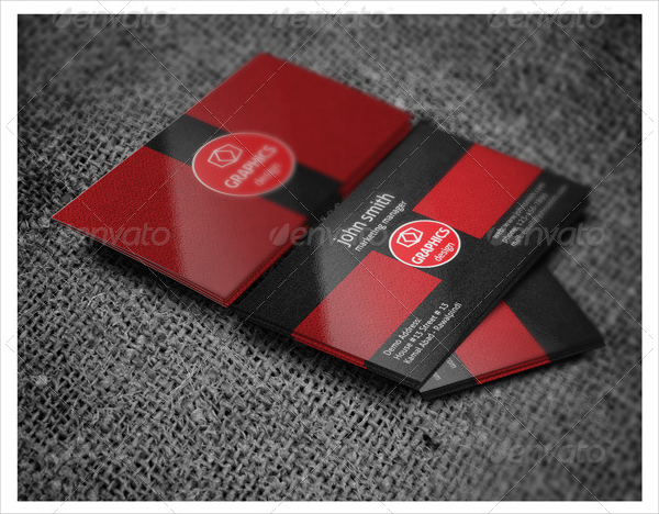 Graphic Design Visiting Cards