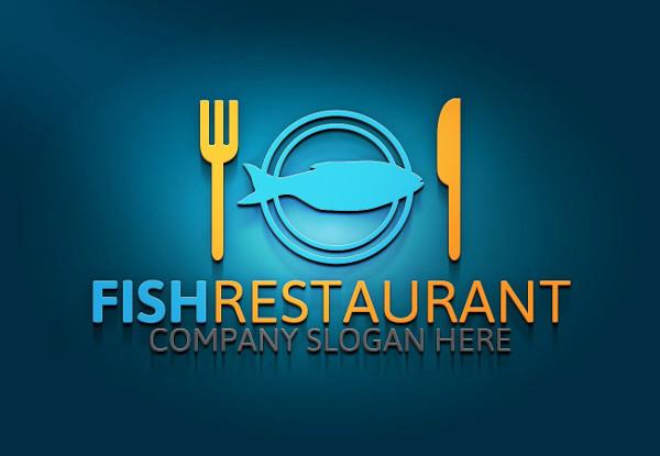 Fishing Restaurant Logo Template