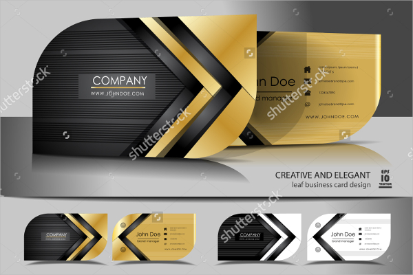 Creative Leaf Business Card Design