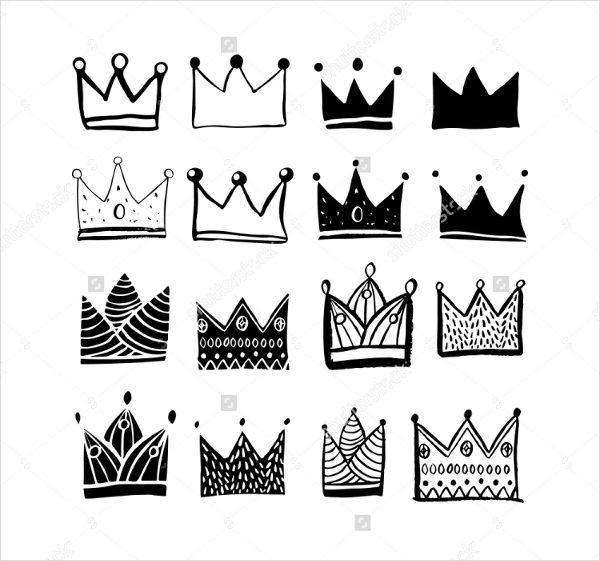 Luxury Crown Makeup Brushes