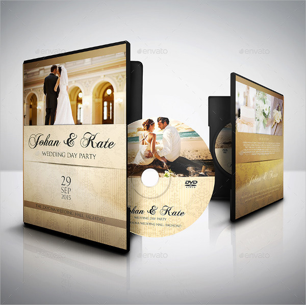 Marriage DVD Label Templates