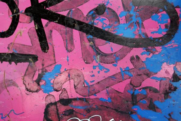 Messy Graffiti Paint Backgrounds