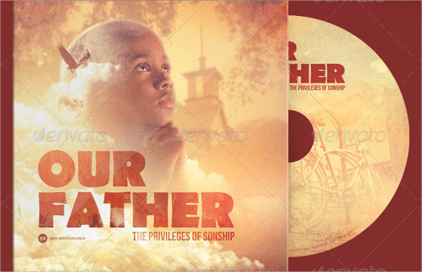 Our Father CD Artwork Photoshop