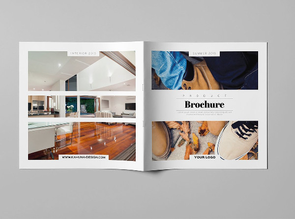 Square Design Product Brochure