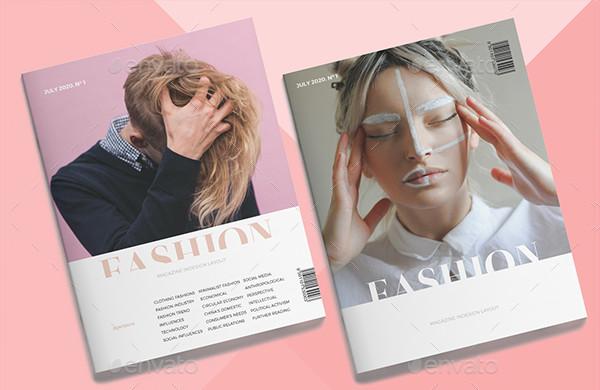 Stylish Fashion Business Magazine Template