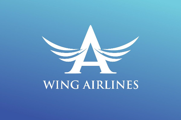 Wing Airline Logo Template