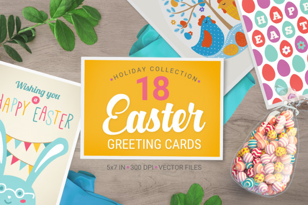 18 Easter Greeting Cards