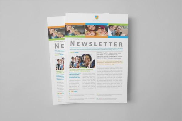 Educational Newsletter Templates