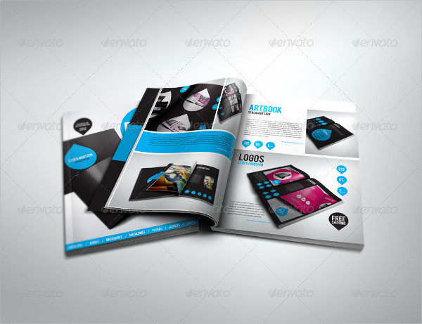 Flexible Products Catalog Brochure Template