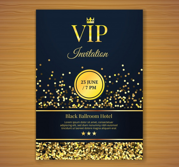 Formal Business Invitation Template Free