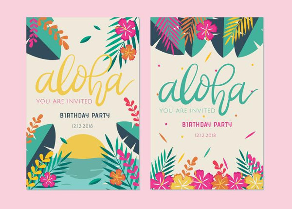 Free Download Birthday Card Vector