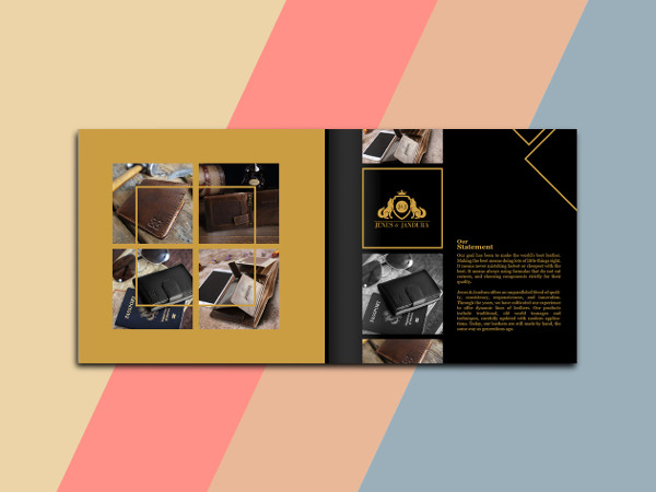 Graphic Design Product Catalog Templates