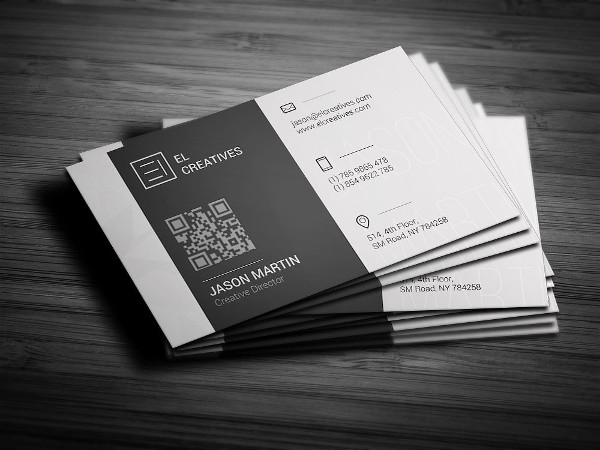 Metro Clean Business Card Design