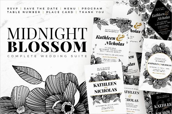 Midnight Blossom Wedding Suite
