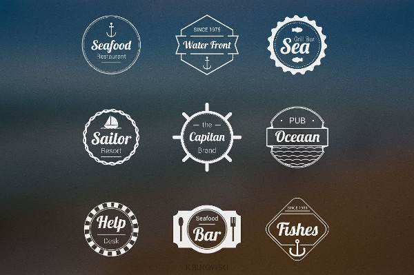 Sea Badges Logos