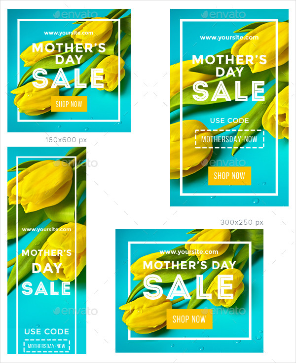Mother's Day Sale Banner Templates
