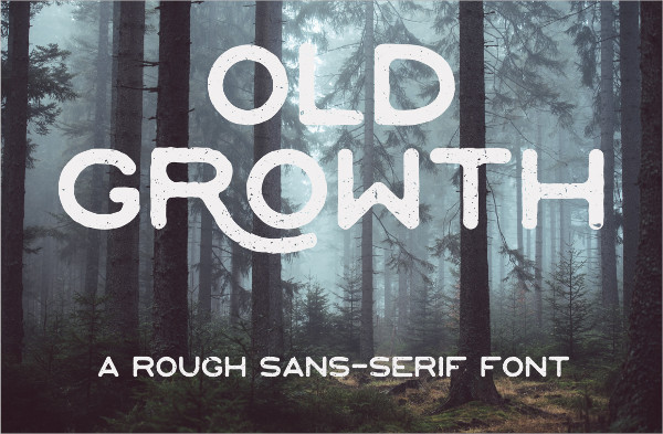 Old Growth Font Free