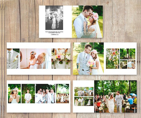 Stylish Wedding Album Photobook