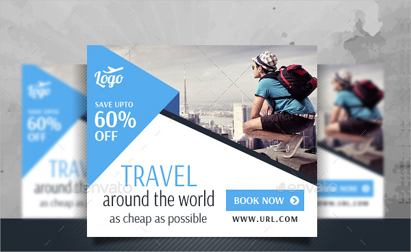 Vacation Travel Banner Design Templates