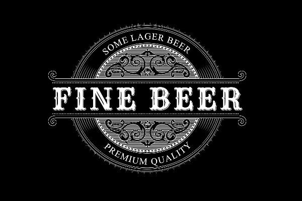 Vintage Logo & Beer Label Template
