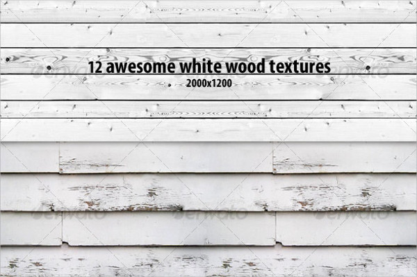 12 White Wood Texture Pack