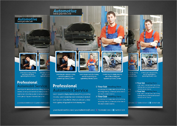 Professional Repair Service Flyer Template