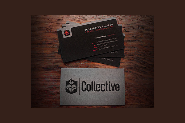 Collective Church Business Cards