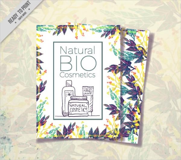 Cosmetics Brochure Design Free Download