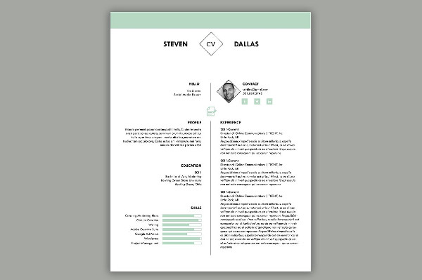 Creative One-Page Resume