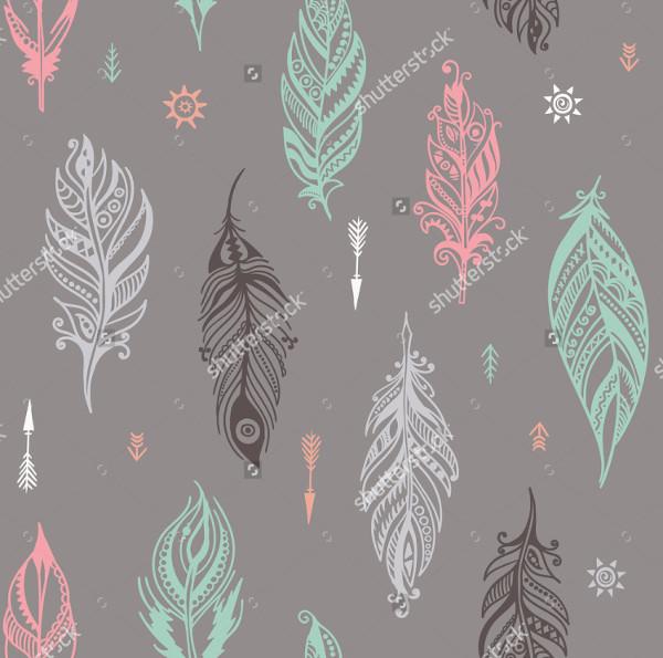 Doodle Romantic Pattern