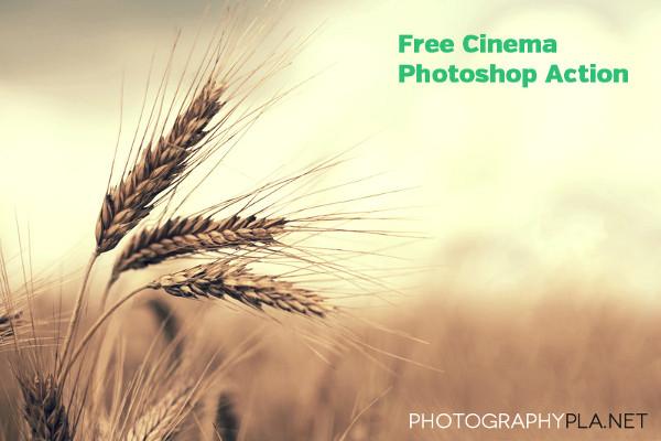 Free Cinema Photoshop Action