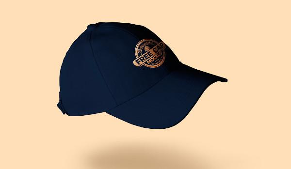 Free Baseball Cap Mock-up
