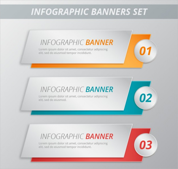 Infographic Banner Templates Pack Free Download