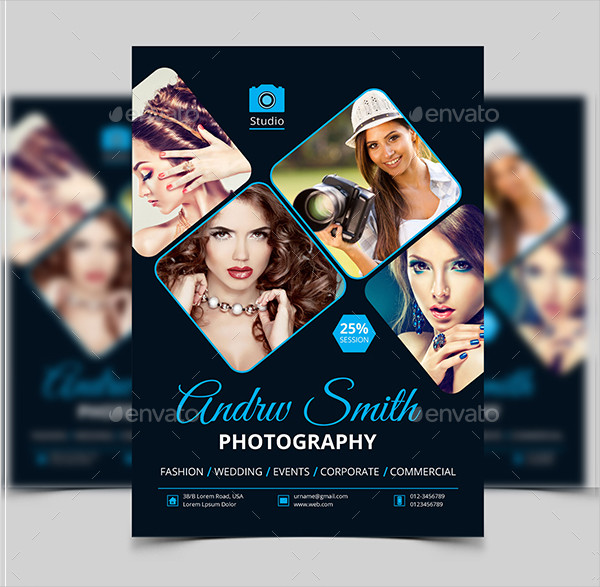 Latest Photography Marketing Flyer Template