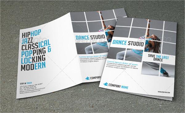 Modern Studio Dance Brochures