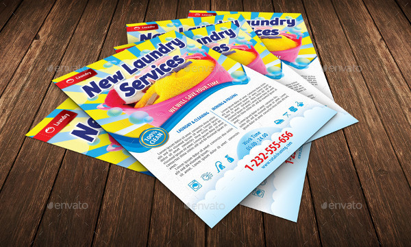 New Laundry Services Template