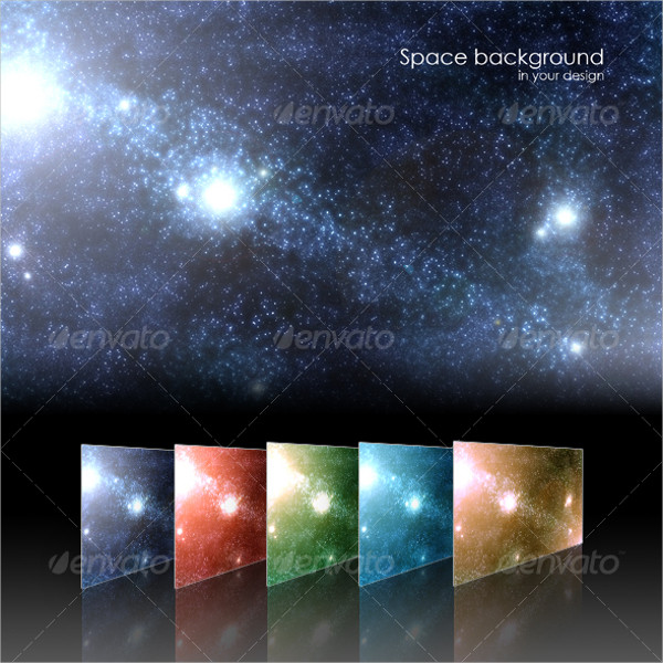 Shining Space Background
